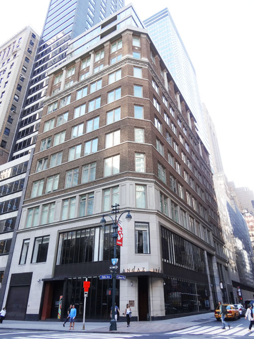 Takenaka Acquires Andaz 5th Avenue Tak Development